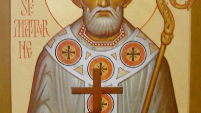 De Akathist voor de Heilige Hiërarch Materne